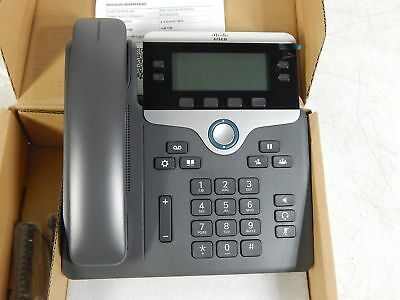 CISCO UNIFIED IP Phone 7841 CP-7841-K9 IP VolP Phone Telephone Set - NEW
