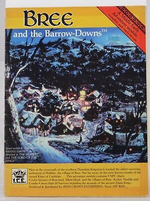 MERP - Bree and the Barrow-Downs - (I.C.E., Middle Earth, Rolemaster) 101002002