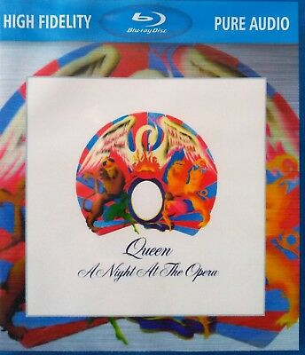 Queen A Night At The Opera Blu-Ray Disc New Sealed