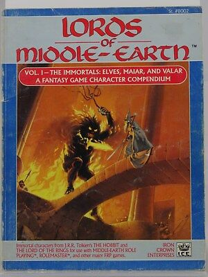 MERP - Lors of Middle-Earth Vol. I - (I.C.E., Rolemaster) 101002002