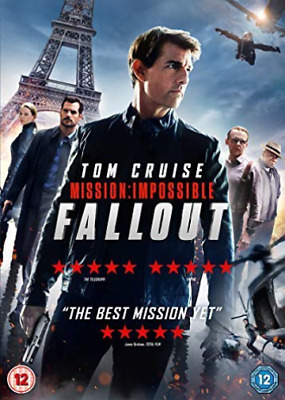 Mission Impossible Fallout DVD NUOVO