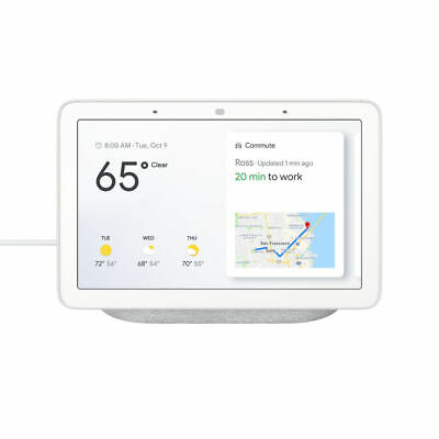 NEW Google Home Hub GA00515-US with Google Assistant *CHALK* FREE 2-DAY SHIP