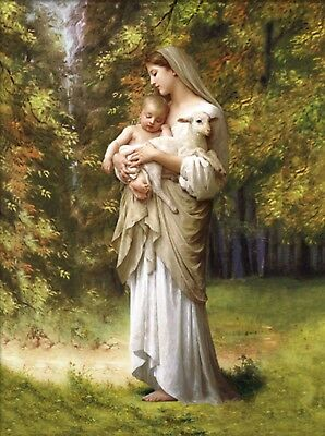 Catholic Icon of Our Lady with Child Jesus Ikone unserer Dame mit Kind jesus