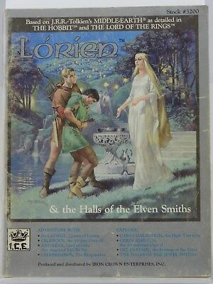 MERP - Lorien & the Halls of the Elven Smiths - (I.C.E., Rolemaster) 101002002