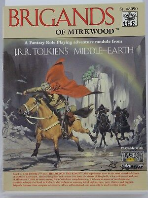 MERP - Brigands of Mirkwood - (I.C.E., Middle Earth, Rolemaster) 101002002