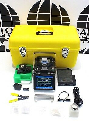 Fujikura FSM-50S SM MM Fiber Core Alignment Fusion Splicer w/ Cleaver CT-30 50 S