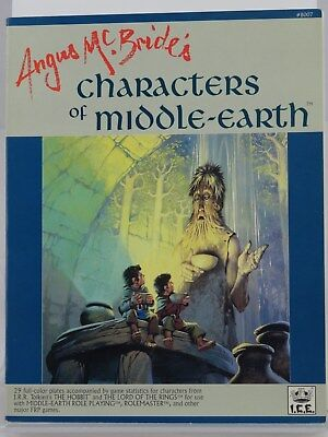 MERP - Angus Mc Bride´s - Characters of Middle Earth - (I.C.E.) 101002002