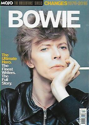 Bowie Changes 1976 - 2016  Mojo Magazine Collectors Series...new