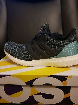 11ff182ad ADIDAS ULTRA BOOST parley BRAND NEW BOXED WITH TAGS size 10 U.K. ...