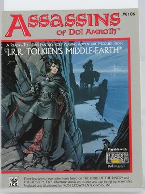 MERP - Assassins of Dol Amroth - (I.C.E., Middle Earth, Rolemaster) 101002002