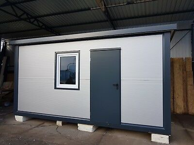 Portable office 5 x 2.5m, Portable Cabin, Modular building, Wc, Shower, furnitur