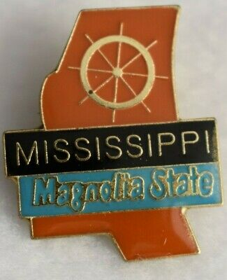 Mississippi State colorful lapel pin Nice NEW!!!
