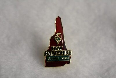 New Hampshire  State colorful lapel pin Nice NEW!!!