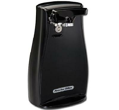 Electric Can Opener Durable Extra Tall Knife Sharpener Kitchen Utensils Black