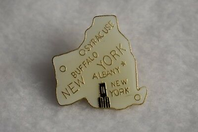 New York State colorful lapel pin Nice NEW!!!