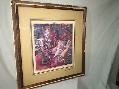 "RANDAL SPANGLER 'Waking The Wizard"" FRAMED LIMITED PRINT - Hand Signed"
