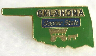 Oklahoma State colorful lapel pin Nice NEW!!!