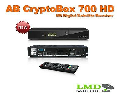 AB CryptoBox 700 HD  H.265 HEVC CPU 1GHz 2000 DMIPS Full HD 1080p IPTV FastScan