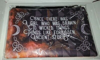 "Last Namsara inspired Leather Clutch Fae Crate exclusive.""Once there was a girl"