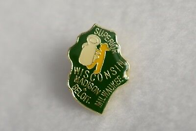 Wisconsin State colorful lapel pin Nice NEW!!!