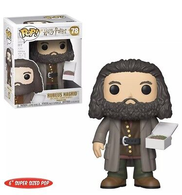 Harry Potter Pop! Vinyl Figure - 6 Inch Rubeus Hagrid With Cake UK SELLER