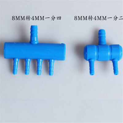 Oxygen Pump Splitter Fish Tank Air Pump Plastic Garden Aquarium Accessories