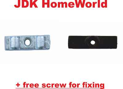 TURN LATCH BUTTON CATCH FOR SHED DOOR RABBIT HUTCHES CHOOSE FINISH