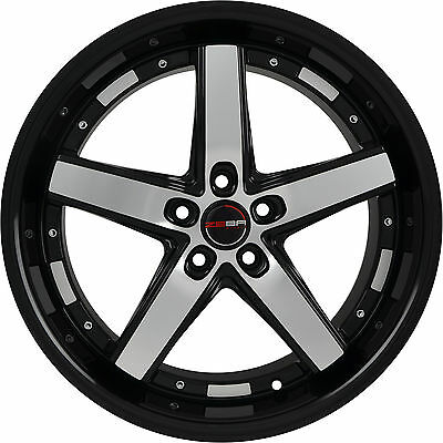 4 Gwg Wheels 20 Inch Black Flare Rims Fits Ford Explorer 2002 2018