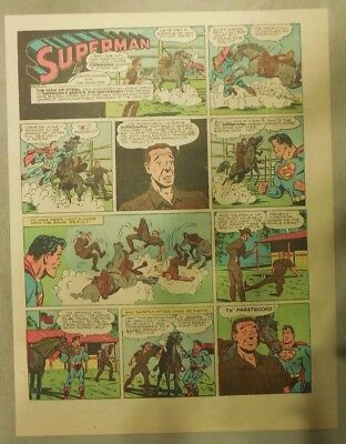Superman Sunday Page #245 by Siegel & Shuster from 7/9/1944 Tab Page