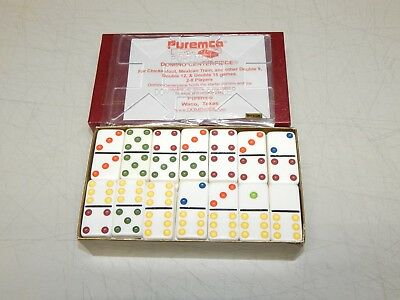 Vintage Puremco Professional Extra Thick Dominoes
