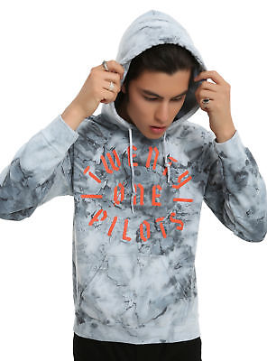 8456de410ce Twenty One Pilots 21 Stencil Wash Hoodie Hood NEW 100% Authentic   Official  NWT