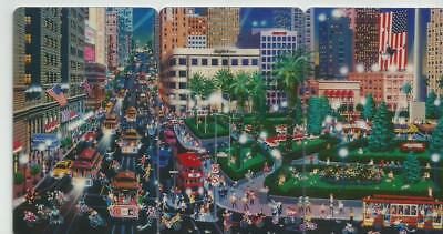 Union Square 3 Card Puzzle -Alexander Chen Phone Cards - 1995