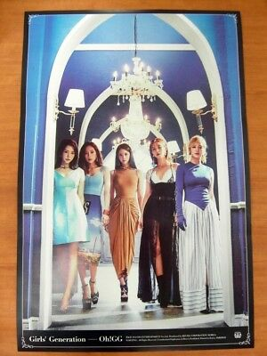 SNSD GIRLS' GENERATION-OH!GG - Lil' Touch [OFFICIAL] POSTER *NEW* K-POP