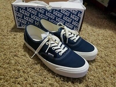 6c5c8ae35659 VANS VAULT OG Authentic Lx Dress Blue White Vn000Uddiaw -  65.00 ...