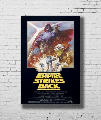24x36 14x21 40 Poster STAR WARS EMPIRE STRIKES BACK Movie Rare Art Hot P-1607