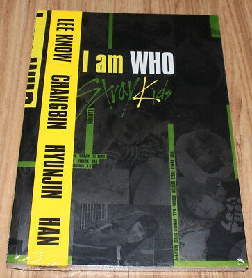 STRAY KIDS I am Who 2nd Mini Album I am Ver. CD + 3 PHOTOCARD + POSTER IN TUBE