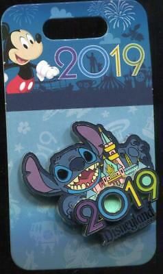 DLR 2019 Dated Stitch Disney Pin