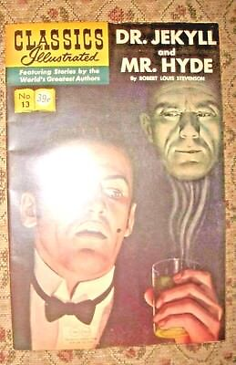 Vintage Classic Illustrated Dr.Jekyll & Mr Hyde Comic