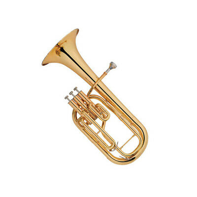 Alto Horn Outfit E-Flat Eb Key With Case Gloves Cleaning Cloth