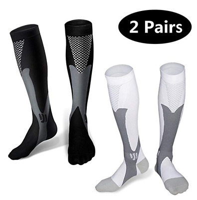Compression Socks 20-30mmHg for Nurses Cycling Runners Fitness Weight Lifting