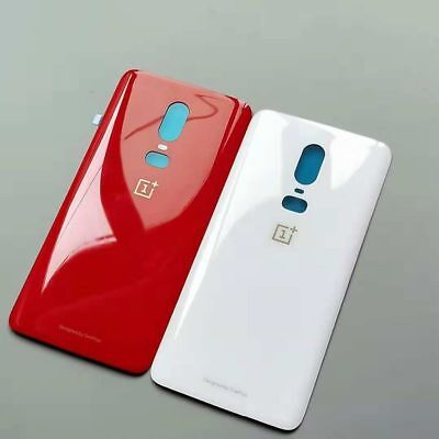 For Oneplus 6 1+6 Rear Panel Housing Glass Battery Back Door Cover High Quality