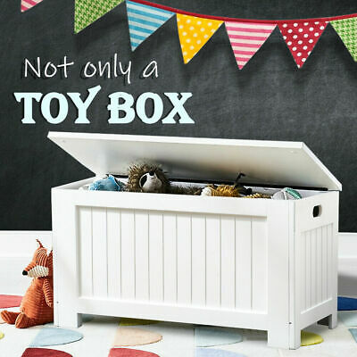 Kids Toy Box Chest Storage Cabinet Container Unit Children Clothes Organiser NEW