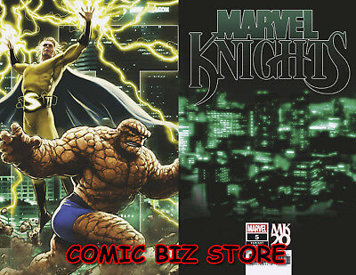 Marvel Knights 20Th #5 (Of 6) (2019) 1St Print Andrews Connecting Variant Cover