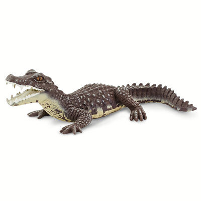 CAIMAN 2019 Safari Ltd Wild Safari Wildlife 100238 Crocodile Alligator Toy