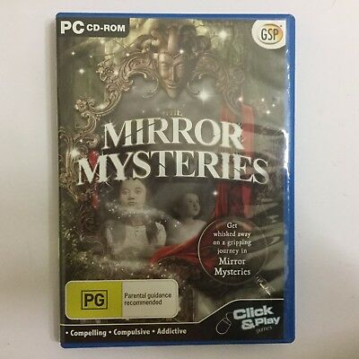 The Mirror Mysteries PC CD-ROM hidden object game (Gogii 2010)