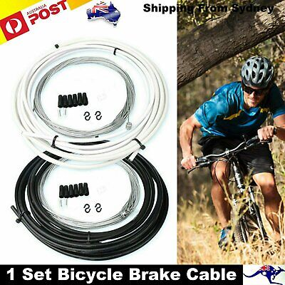 Complete Bike Bicycle Brake Brake Cables Lines Set Front Rear Inner Outer Set AU