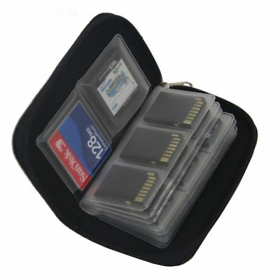 Memory Card Storage Carrying Case Holder Wallet For HC MMC SDHC CF