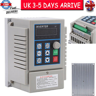 AC220V 0.75kW Variable Frequency Drive VFD Speed Control Inverter Single Phrase