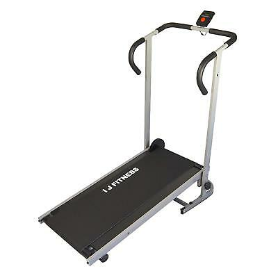 Manual Treadmill Walking Running Cardio Portable Incline Fitness Workout