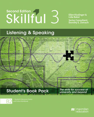 Skillful 2nd edition Level 3 - Listening and Speaking/ Student's Book with  ...